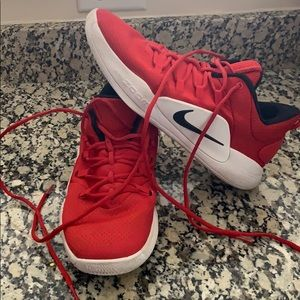 Red Nike Basketball Shoes (9 Women's)